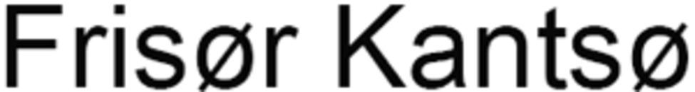 Frisør Kantsø logo