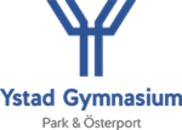 Ystad Gymnasium logo
