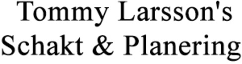 Larsson's Schakt & Planering, Tommy logo