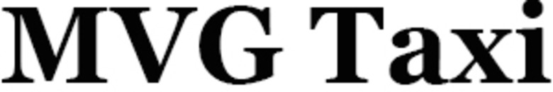 MVG Taxi logo