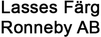 Lasses Färg I Ronneby AB logo