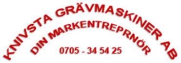 Knivsta Grävmaskin AB logo