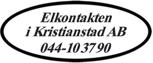 Elkontakten i Kristianstad AB logo