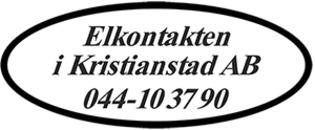 Elkontakten I Kristianstad AB logo