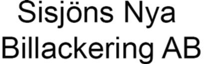 Sisjöns Nya Billackering AB logo