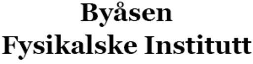 Byåsen Fysikalske Institutt logo