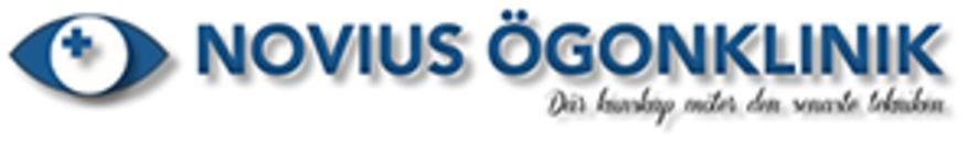 Novius Ögonklinik logo. Skeppargatan 30. 11452 STOCKHOLM bf8b13be71acc