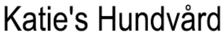 Katie's Hundvård logo