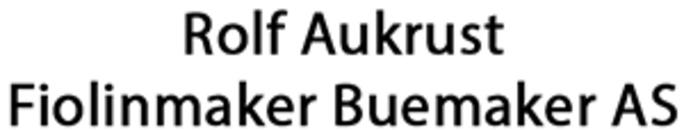 Rolv Aukrust Fiolinmaker Buemaker AS logo