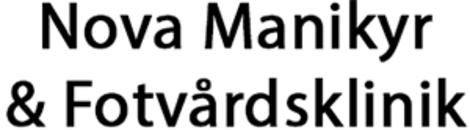 Nova Manikyr & Fotvårdsklinik logo