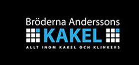 Bröderna Andersson Kakel AB logo
