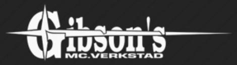 Gibson´s MC-Verkstad logo