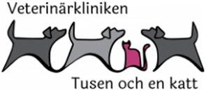 Veterinärkliniken Tusen och en Katt logo