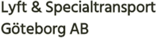 Lyft & Specialtransport Göteborg AB logo