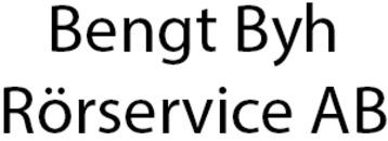 Bengt Byh Rörservice AB logo
