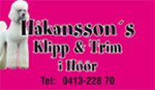 Håkanssons Klipp & Trim logo