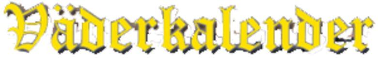 Väderkalendern Sture Olsson AB logo
