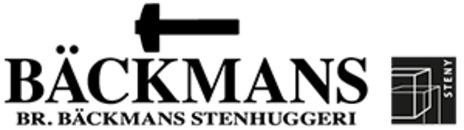 Bröderna Bäckmans Stenhuggeriaktiebolag logo