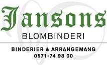 Jansons Blombinderi logo