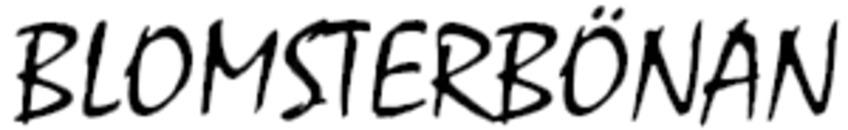 Blomsterbönan logo
