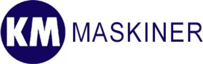 KM Maskiner A/S logo