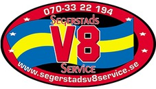 Segerstads V8 Service logo