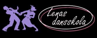 Lenas Dansskola logo