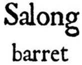 Salong Barret logo