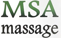 MSA-massage v/Michael Sand-Andresen logo