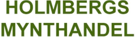 Holmbergs Mynthandel logo