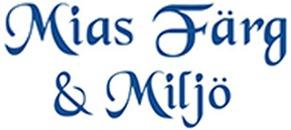 Mias Färg & Miljö logo