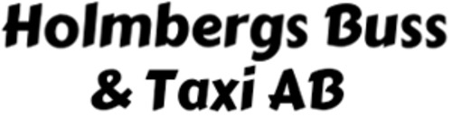 Holmbergs Buss och Taxi logo