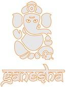 Ganesha Indian Fast Food AB logo