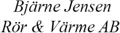 Bjärne Jensen Rör Och Värme AB logo