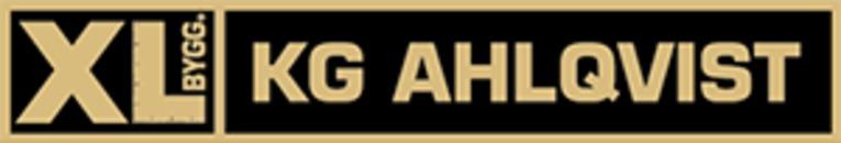 XL-BYGG KG Ahlqvist logo
