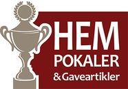 Hem Pokaler og Gaveartikler logo