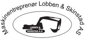 Maskinentreprenør Lobben & Skinstad A/S logo