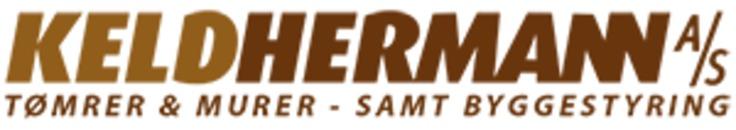 Keld Hermann A/S - Tømrere & Murer - samt byggestyring logo