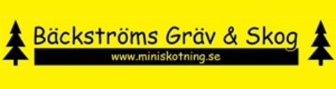 Bröderna Bäckströms Gräv & Skog logo