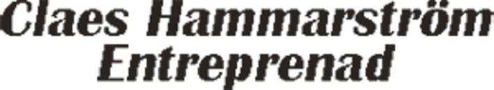 Claes Hammarström Entreprenad logo