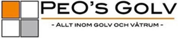 Peo's Golv AB logo