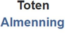Toten Almenningsdrift SA logo