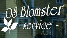 Os Blomsterservice logo