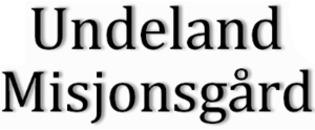 Undeland Misjonsgård AS logo
