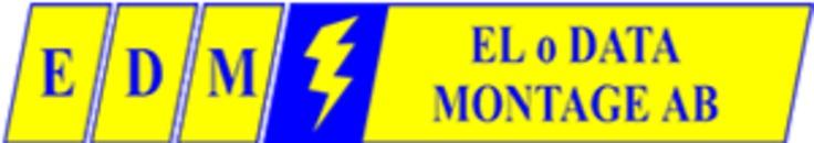 El o. Datamontage AB logo