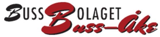 Bussbolaget Buss-Åke logo