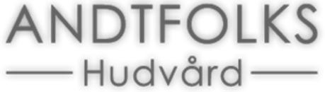Andtfolks Hudvård logo