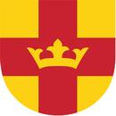 Svenska kyrkan-Vallda, Släp, Kullavik logo