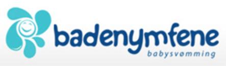Badenymfene Babysvømming ANS logo