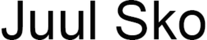 Juul Sko logo